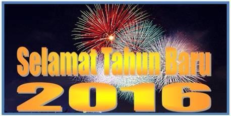 Selamat Tahun Baru 2016 Sahabat - Dedy Akas Website