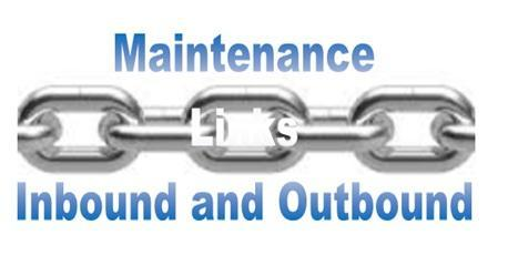 Maintenance Links Inbound and Outbound - Dedy Akas Website