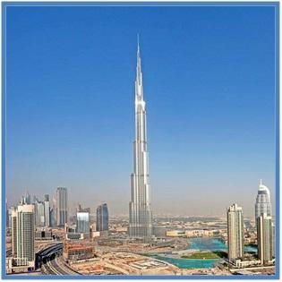 5 Gedung Tertinggi di Dunia - Burj Khalifa - Dedy Akas Website