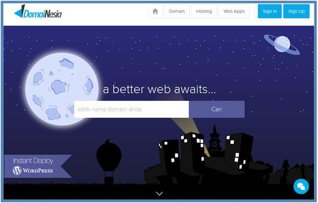 DomaiNesia Cloud Hosting Indonesia - Dedy Akas Website