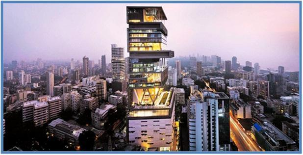 5 Rumah Termahal di Dunia - Antilia, Mumbai - Dedy Akas Website