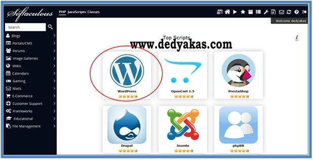 Cara Membuat Blog WordPress.org - Dedy Akas Website
