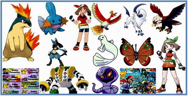 Daftar Nama Nama Pokemon Part V - Dedy Akas Website