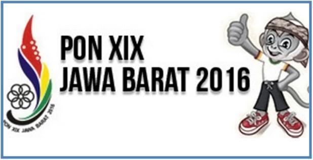 Cabang Cabang Olahraga Pada PON XIX 2016 Bandung Jawa Barat - Dedy Akas Website