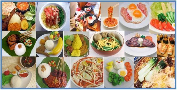 Macam Macam Replika Makanan - Dedy Akas Website