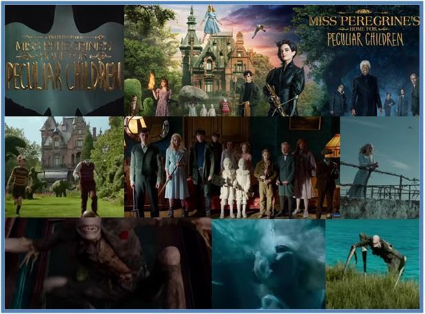 Miss Peregrine's Home for Peculiar Children - Dedy Akas Website