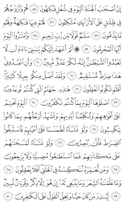 Bacaan Surat Yasin Arab Dan Latin Juga Terjemahannya Dedy