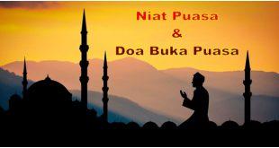 Niat Puasa dan Doa Buka Puasa