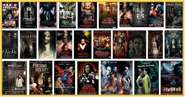 Ngeri Inilah Daftar Film Horor Indonesia