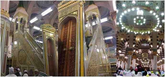 Raudhah Adalah Tempat Istimewa di Masjid Nabawi