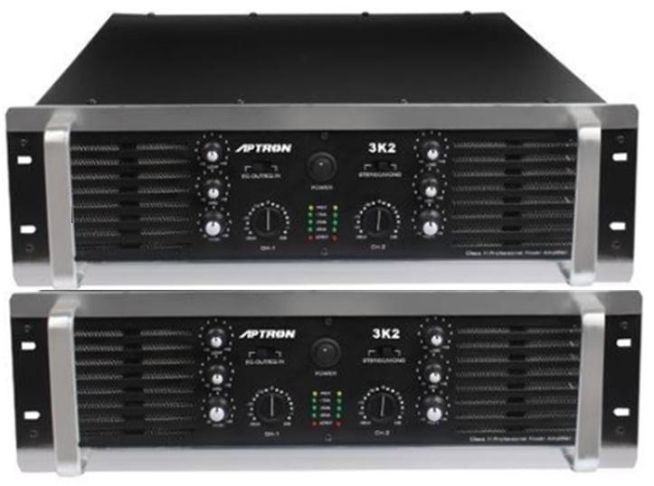 5 Aksesoris Sound System Analog Berikut Gambarnya - Power Amplifier