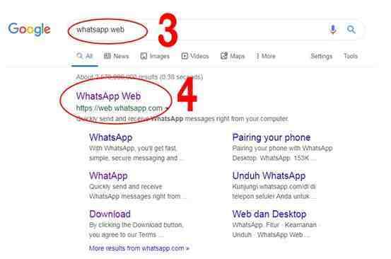 Cara Menggunakan WhatsApp Web di Komputer Lengkap dengan Gambar 3-4