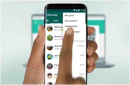 Cara Menggunakan WhatsApp Web di Komputer Lengkap dengan Gambar 7~~