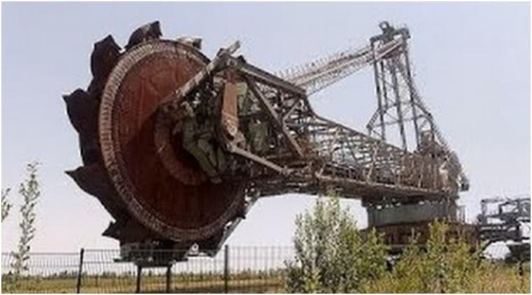Excavator terbesar di dunia dinamakan Bagger-288