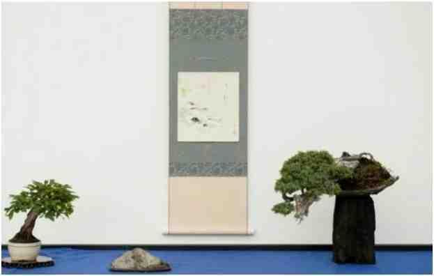 Pohon Bonsai Mame Display, Oleh Morten Albek