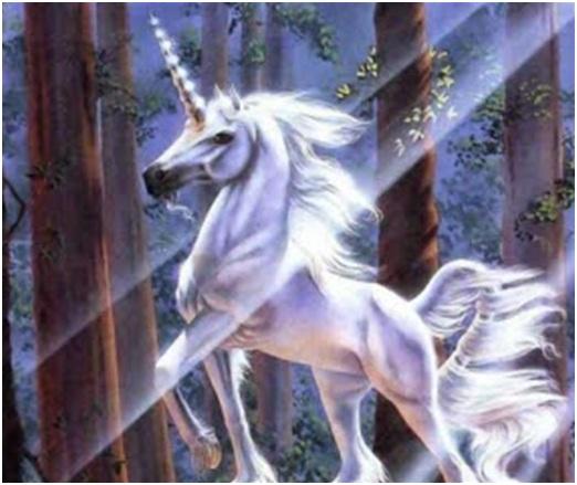 Unicorn sebagai simbol