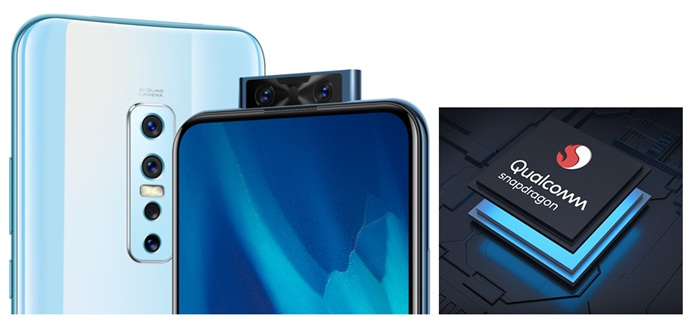 Vivo V17 Pro Dual Pop-Up Selfie 32 Mega Pixel, Vivo V17 Pro prosesor Qualcomm Snapdragon 675