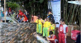 Di Banyuwangi Selokan Disulap Jadi Kolam Ikan Oleh Banyubening