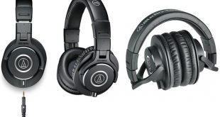 "Kenyamanan Tingkat ""Dewa"" Headphone Audio Technica ATH-M40X Terbaru (image by Bhinneka.com)"