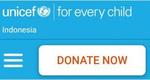 Unicef- Indonesia - Cara Berhenti Donasi UNICEF
