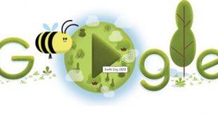 Trending Hari Ini Hari Bumi atau Earth Day 2020 by Google Doodle