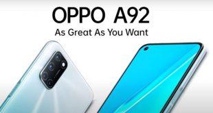 Spesifikasi Lengkap Oppo A92 Yang Dibandrol Dengan Harga Rp. 4 Jutaan