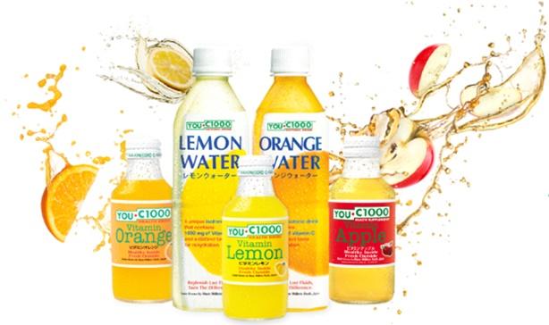 You C1000 Vitamin Lemon, Vitamin Orange, Vitamin Apple, Lemon Water and Orange Water, Sudahkah Anda Mencobanya - (Image by You-C1000.com)